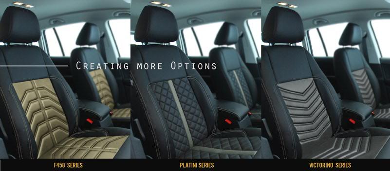 Alea Leather Interior